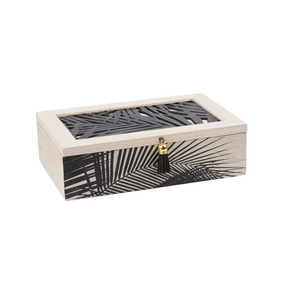 Κουτί Αποθήκευσης (20x13x6) S-F Chypre DCA521015