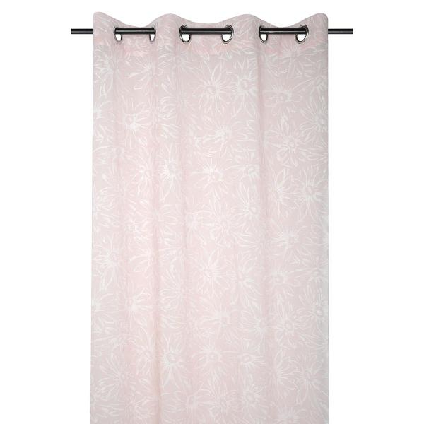 Κουρτίνα (135x260) Με Τρουκς S-F Blush Rose R6A500001VL