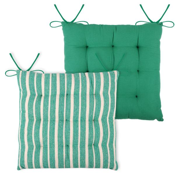 Μαξιλάρι Καρέκλας 2 Όψεων S-F Maxime Emerald CU8857004GAL-5