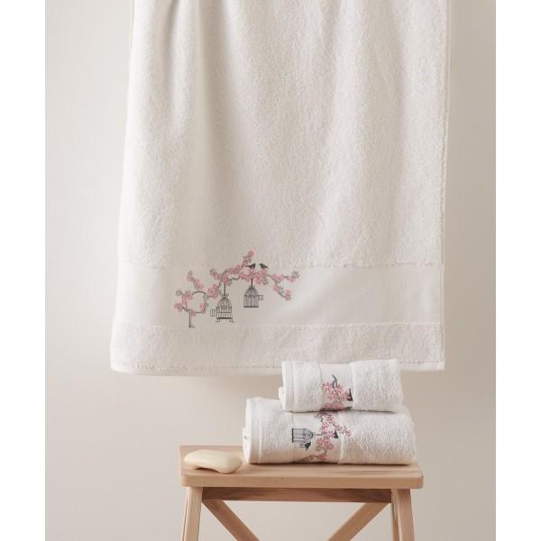 Πετσέτες Μπάνιου (Σετ 3τμχ) Kentia Osaka 00