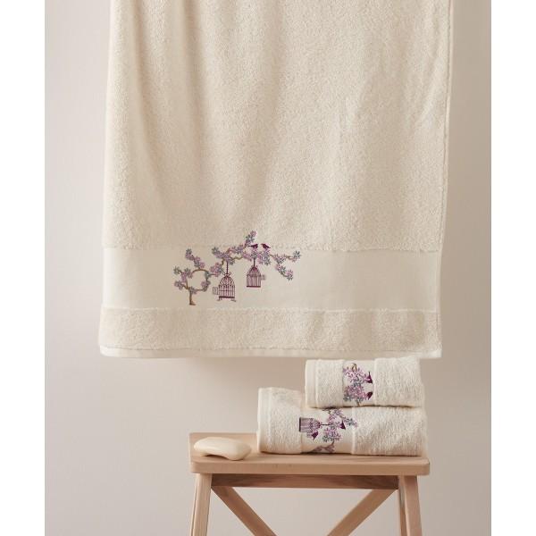 Πετσέτες Μπάνιου (Σετ 3τμχ) Kentia Osaka 12