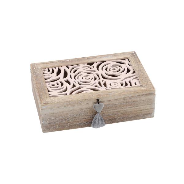 Κουτί Αποθήκευσης S-F Blush Naturel DCA500002