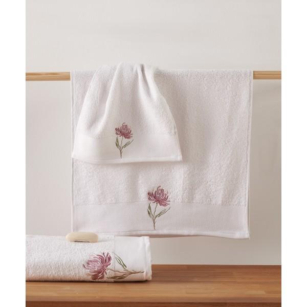 Πετσέτες Μπάνιου (Σετ 3τμχ) Kentia Sameria 00