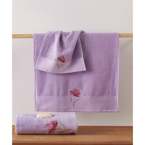 Πετσέτες Μπάνιου (Σετ 3τμχ) Kentia Sameria 35
