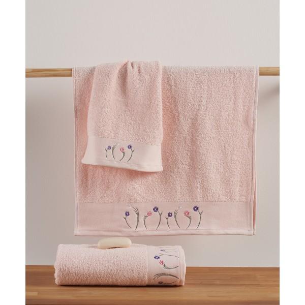 Πετσέτες Μπάνιου (Σετ 3τμχ) Kentia Cande 14