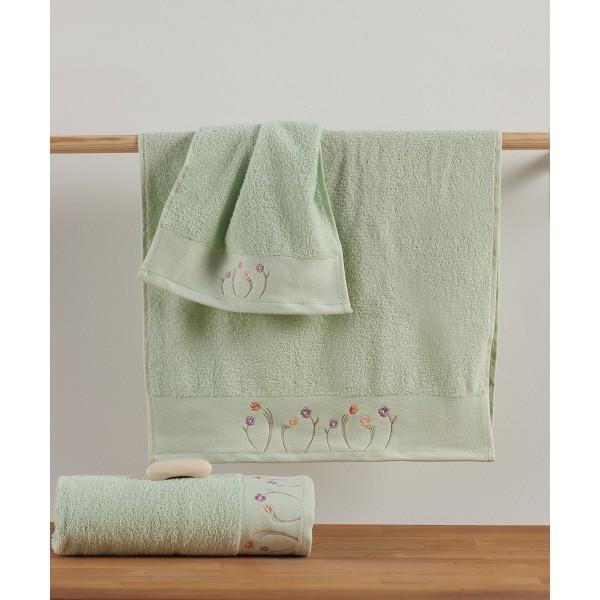 Πετσέτες Μπάνιου (Σετ 3τμχ) Kentia Cande 10