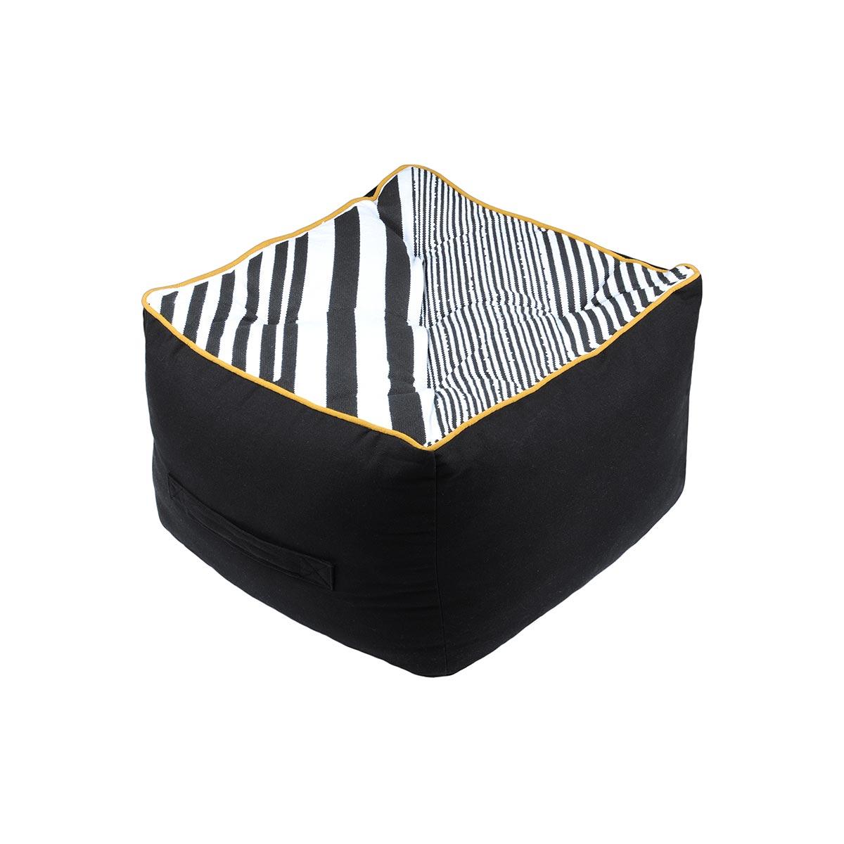 Πουφ S-F Beely Noir C8A167005