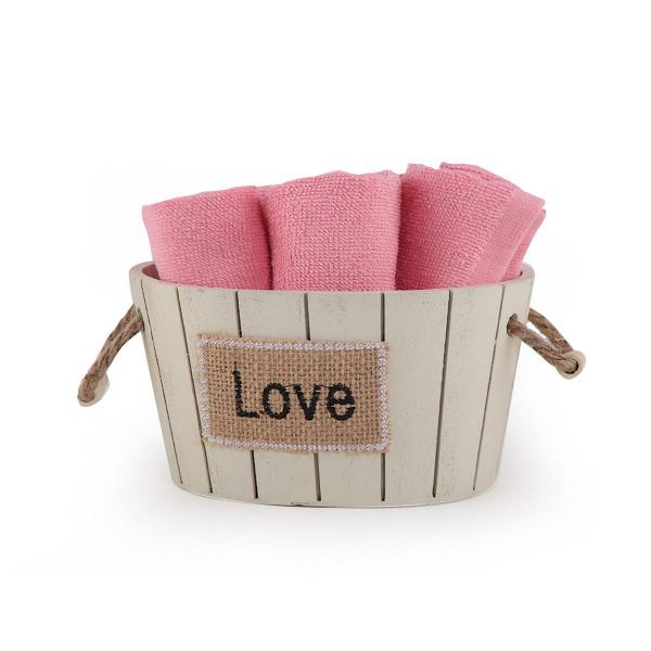 Πετσέτες Δώρου (Σετ 5τμχ) Nef-Nef Love Coral