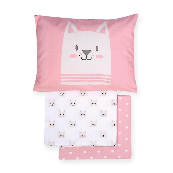 Σεντόνια Κούνιας (Σετ) Nef-Nef Cat