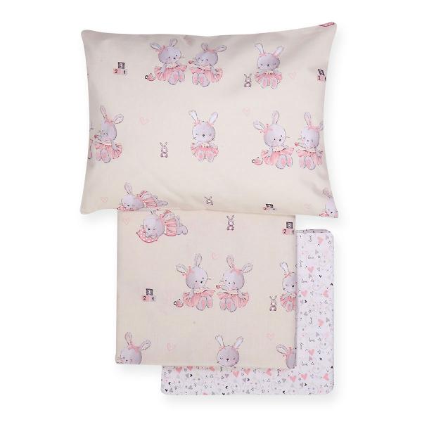 Σεντόνια Κούνιας (Σετ) Nef-Nef Bunny Ladies