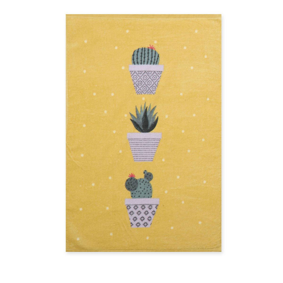 Πετσέτα Κουζίνας Nef-Nef Cactus Mustard