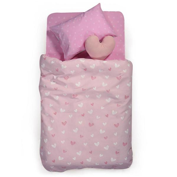 Κουβερτόριο Μονό Nef-Nef Junior L'Amour Pink