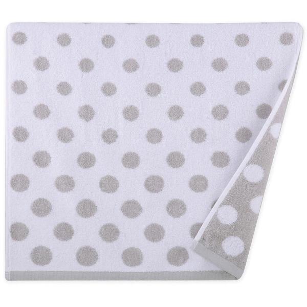 Πετσέτα Προσώπου (50x90) Nef-Nef Dots Grey