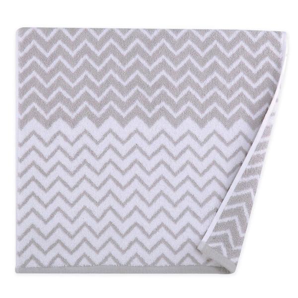 Πετσέτα Προσώπου (50x90) Nef-Nef Chevion Grey