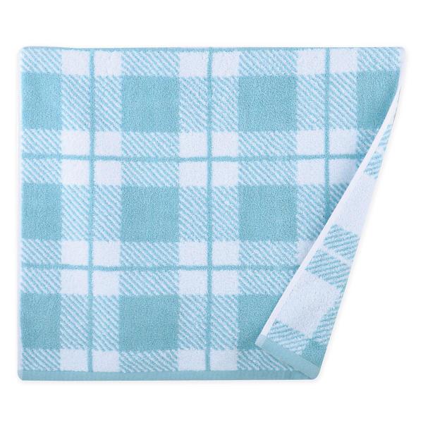 Πετσέτα Προσώπου (50x90) Nef-Nef Square Blue