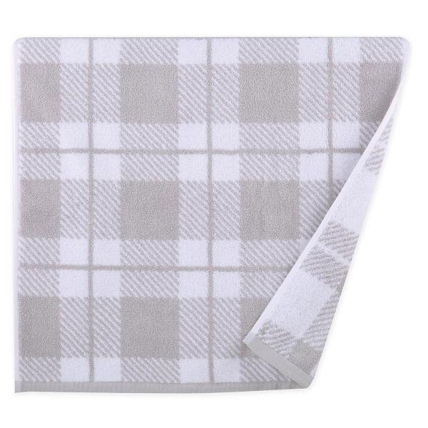 Πετσέτα Προσώπου (50x90) Nef-Nef Square Grey