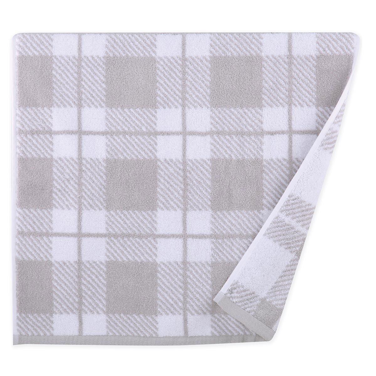 Πετσέτα Προσώπου (50×90) Nef-Nef Square Grey