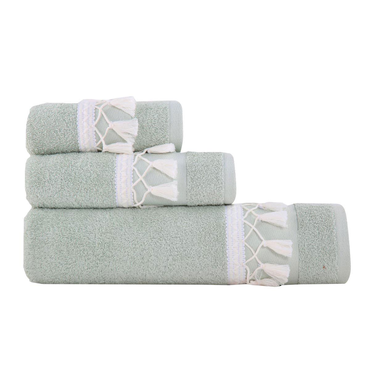 Πετσέτες Μπάνιου (Σετ 3τμχ) Nef-Nef Isolin Mint