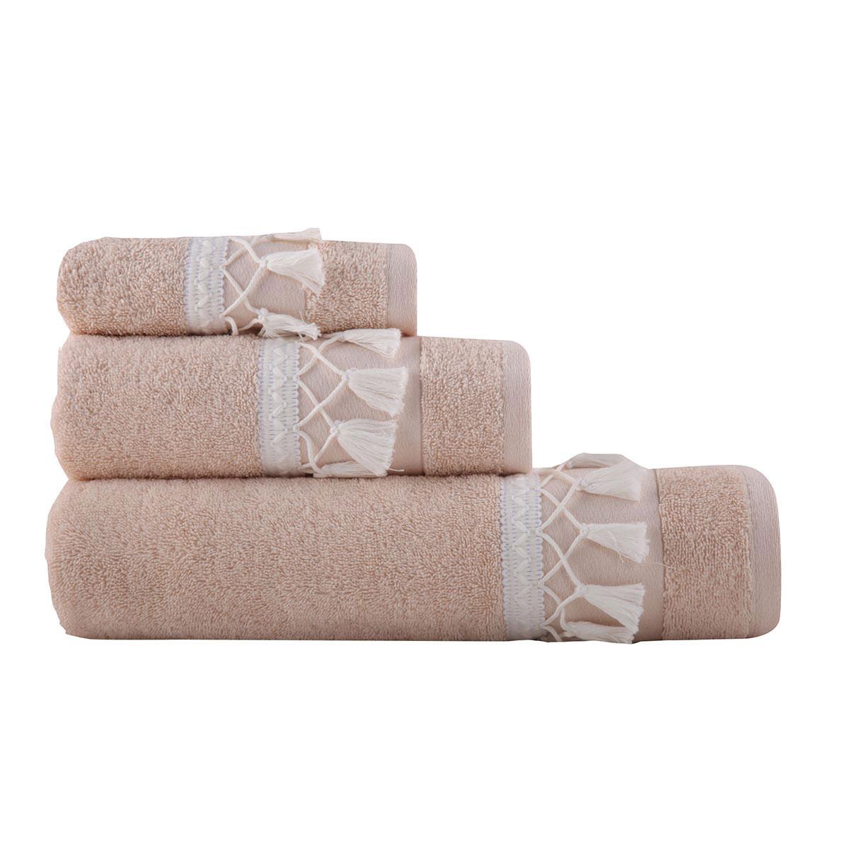 Πετσέτες Μπάνιου (Σετ 3τμχ) Nef-Nef Isolin L.Pink