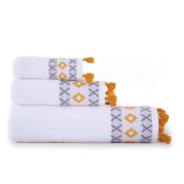 Πετσέτα Προσώπου (50x90) Nef-Nef Perez White