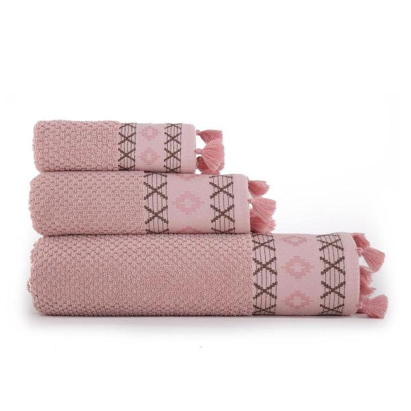 Πετσέτα Προσώπου (50x90) Nef-Nef Perez Pink