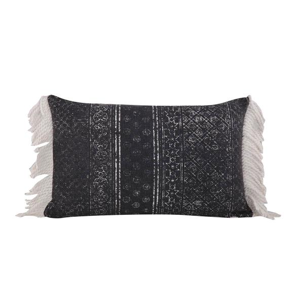 Διακοσμητικό Μαξιλάρι (33x55) Nef-Nef Lincoln Black