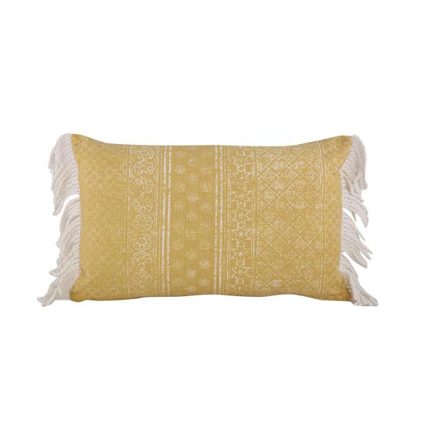 Διακοσμητικό Μαξιλάρι (33x55) Nef-Nef Lincoln Yellow