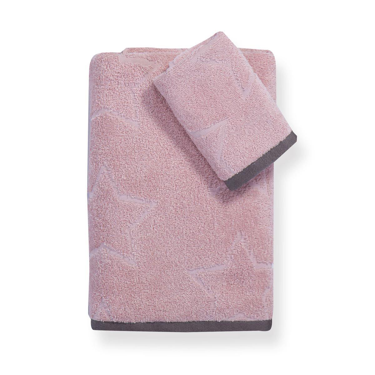 Παιδικές Πετσέτες (Σετ 2τμχ) Nef-Nef Junior Superstar Pink