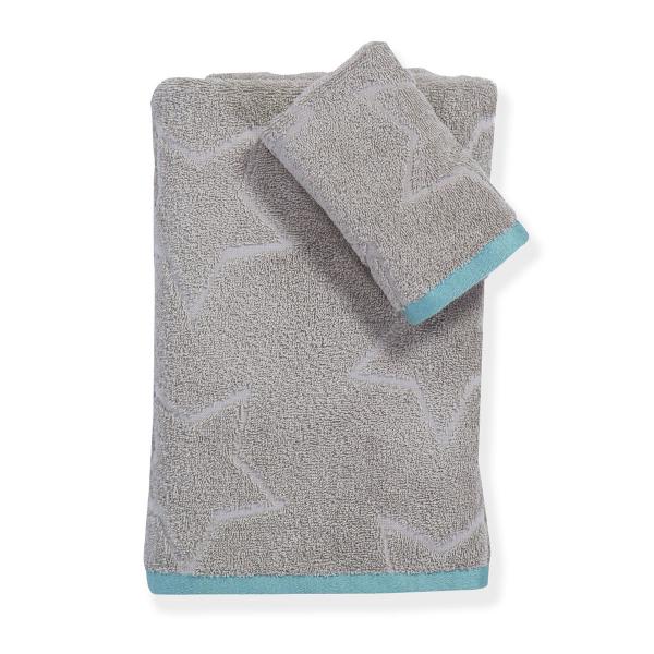 Παιδικές Πετσέτες (Σετ 2τμχ) Nef-Nef Junior Superstar Grey