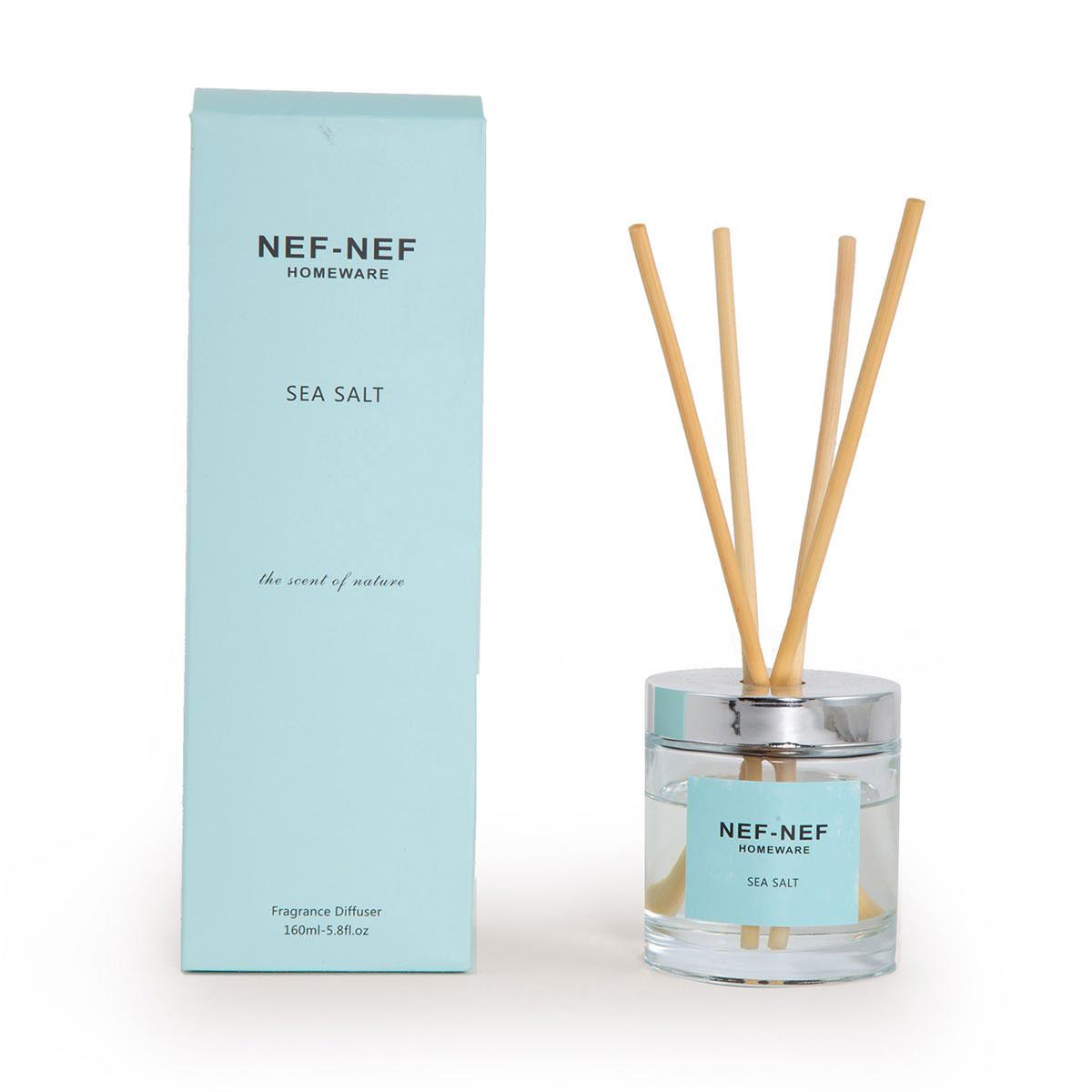 Αρωματικό Χώρου 160ml Με Στικς Nef-Nef Sea Salt