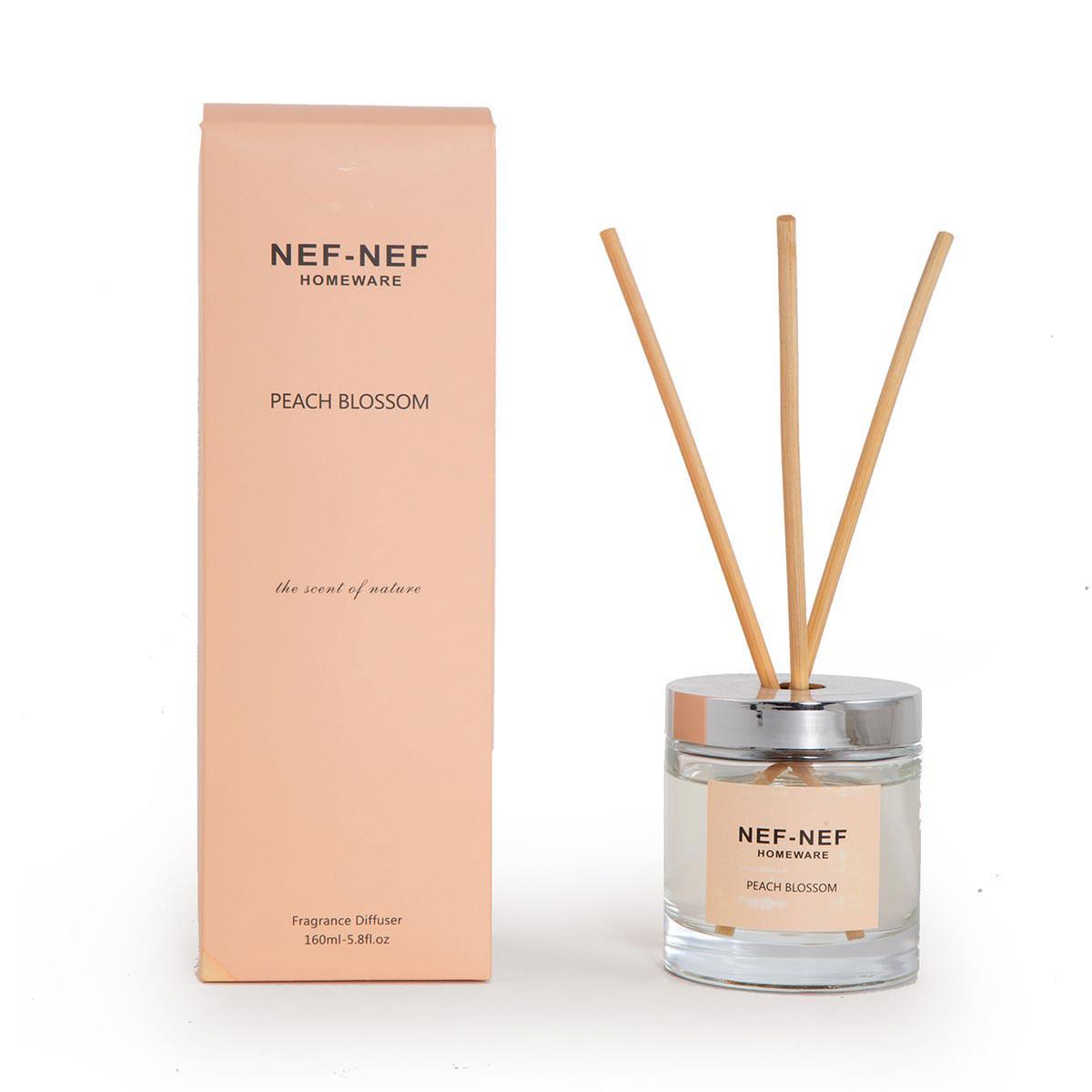Αρωματικό Χώρου 160ml Με Στικς Nef-Nef Peach Blossom