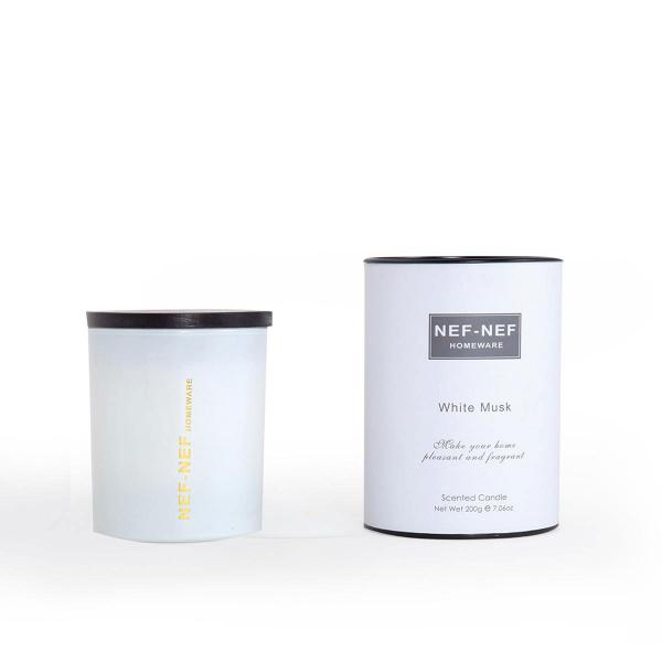 Αρωματικό Κερί 200gr Nef-Nef White Musk