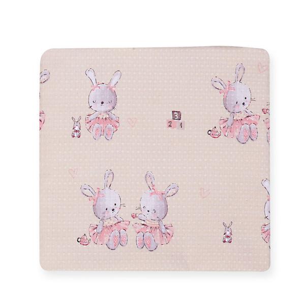Κουβέρτα Πικέ Κούνιας Nef-Nef Bunny Ladies