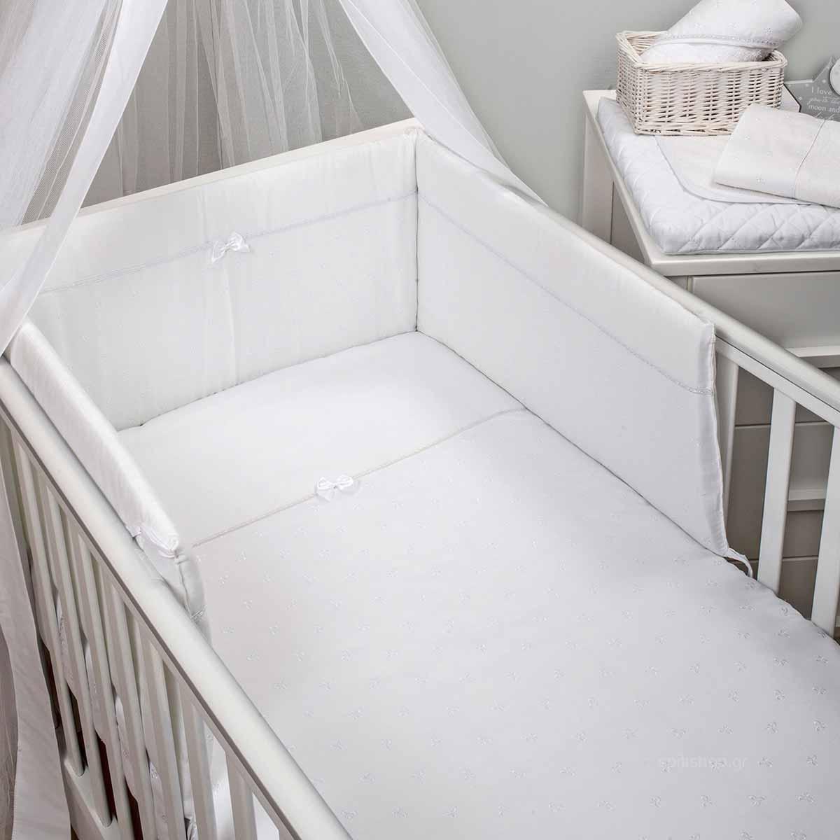 Πάπλωμα + Πάντα Κούνιας Baby Oliver Broderie 334
