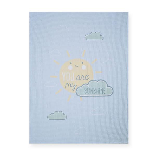 Κουβέρτα Πικέ Αγκαλιάς Nef-Nef Sunshine
