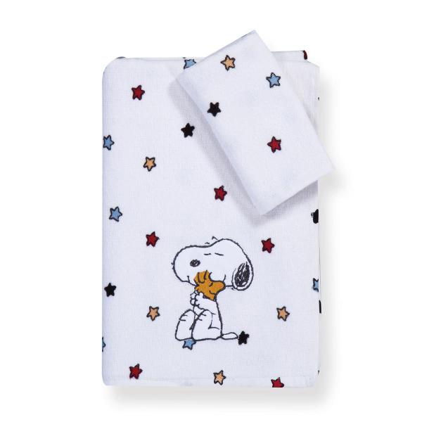 Παιδικές Πετσέτες (Σετ 2τμχ) Nef-Nef Junior Snoopy Rainbow
