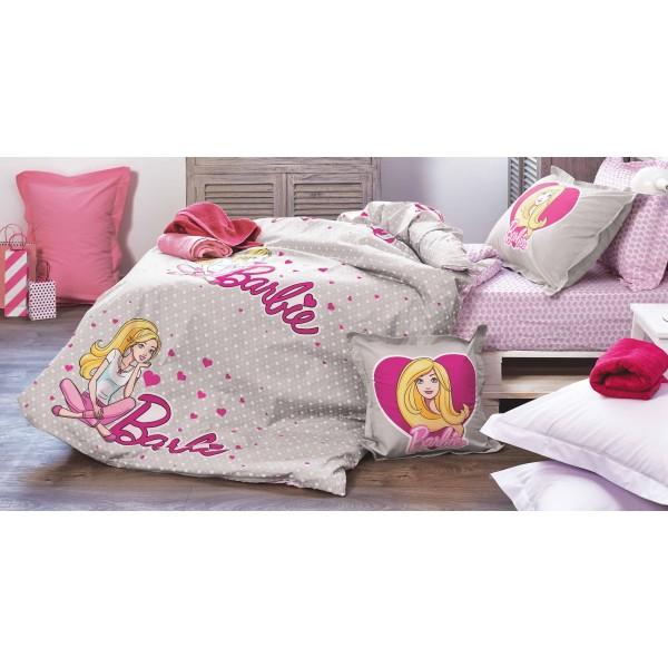 Κουβερλί Μονό (Σετ) Kentia Kids Collection Barbie 514