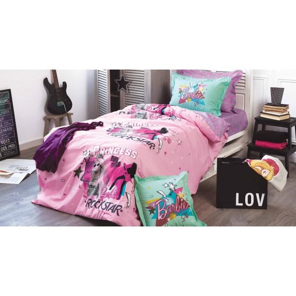 Κουβερλί Μονό (Σετ) Kentia Kids Collection Barbie 515