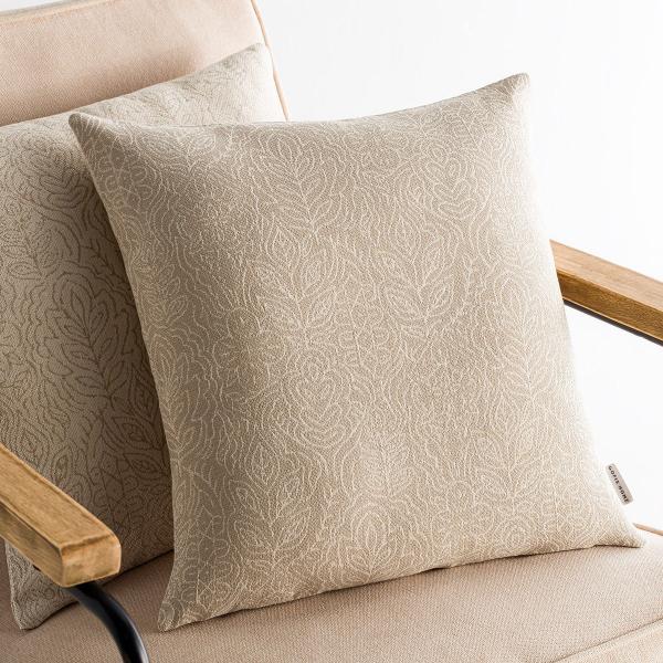 Διακοσμητική Μαξιλαροθήκη (50x50) Gofis Home Mandala Beige 140/06
