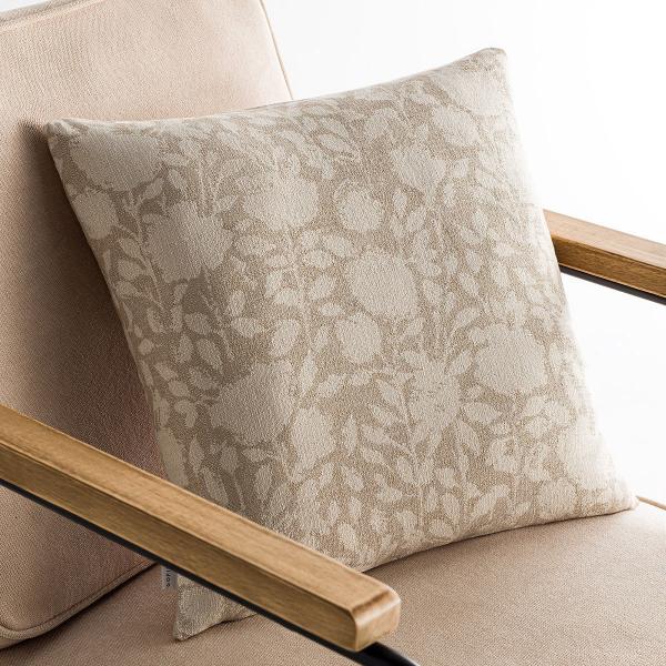 Διακοσμητική Μαξιλαροθήκη (50x50) Gofis Home Rosefield Beige 201/06