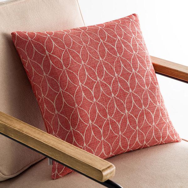 Διακοσμητική Μαξιλαροθήκη (50x50) Gofis Home Lumien Red 517/02