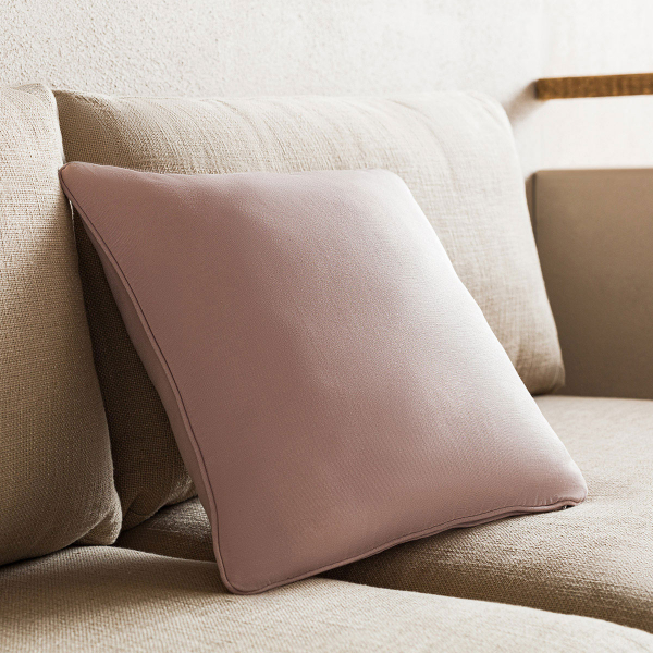 Διακοσμητική Μαξιλαροθήκη (43x43) Gofis Home Solid Clay Pink 911/08