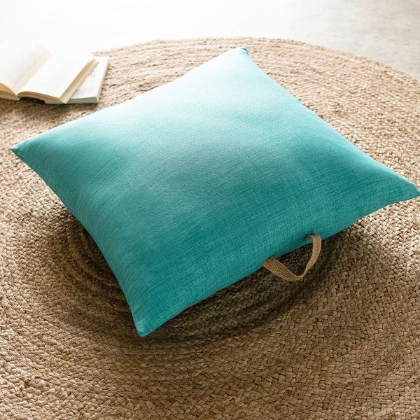 Θήκη Μαξιλάρας (65x65) Gofis Home Chrome Turquoise 930A/24