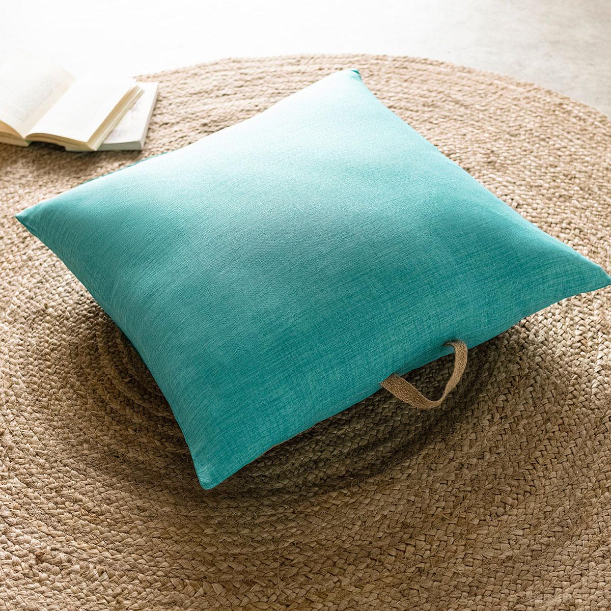 Θήκη Μαξιλάρας (65×65) Gofis Home Chrome Turquoise 930A/24