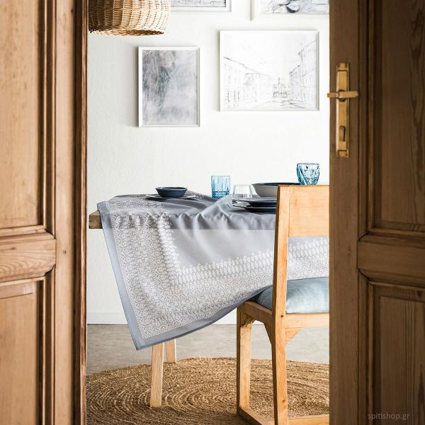 Τραπεζομάντηλο (135x180) Gofis Home Celestina Blue 198/01