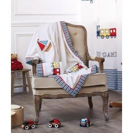 Κουβέρτα Fleece Κούνιας Kentia Game