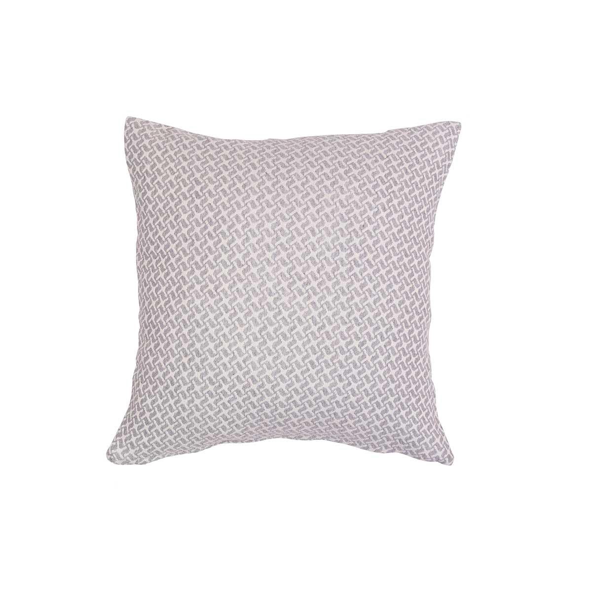 Διακοσμητική Μαξιλαροθήκη (40×40) Loom To Room Dimi Light Grey