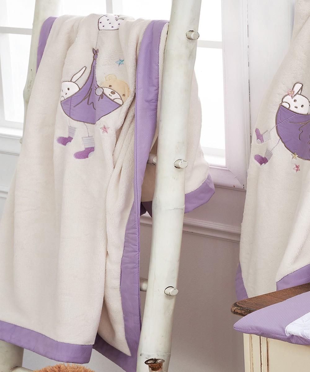 Κουβέρτα Fleece Κούνιας Kentia Lullaby