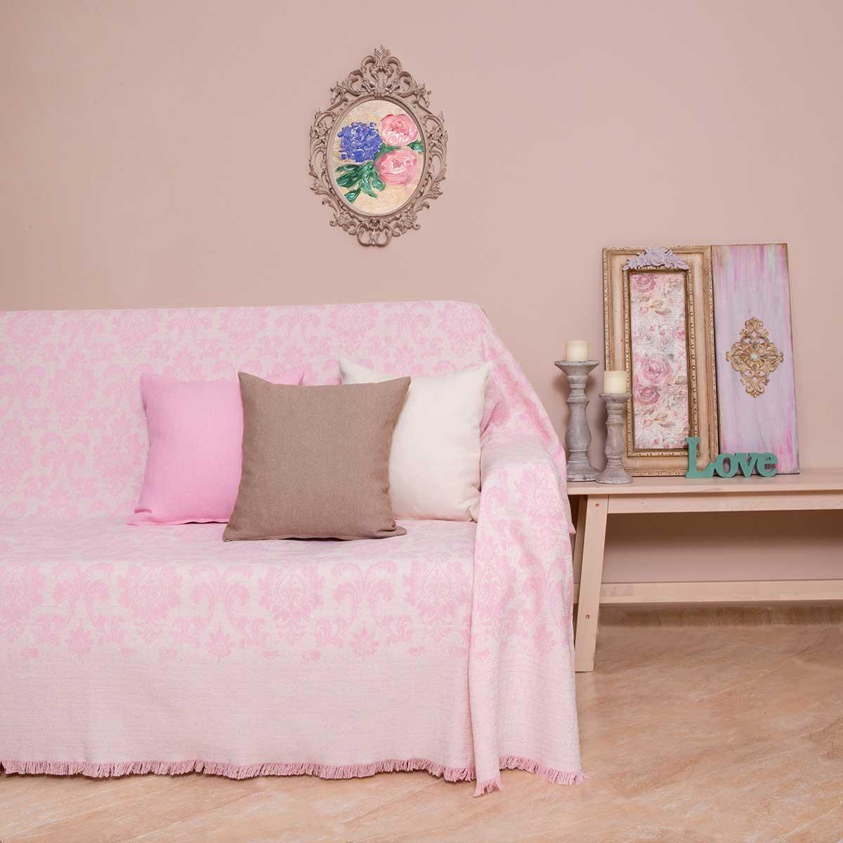 Ριχτάρι Διθέσιου (180×250) Loom To Room Maira Pink