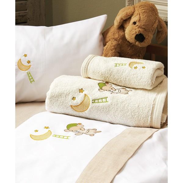 Βρεφικές Πετσέτες (Σετ 2τμχ) Kentia Baby Heaven